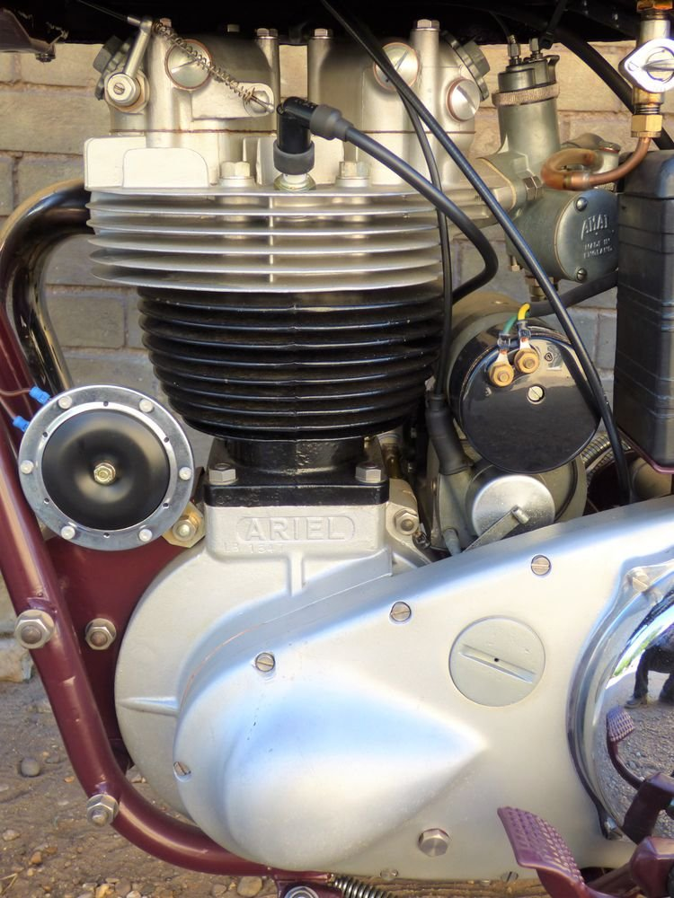 1955 Ariel NH 350cc SOLD (picture 4 of 6)