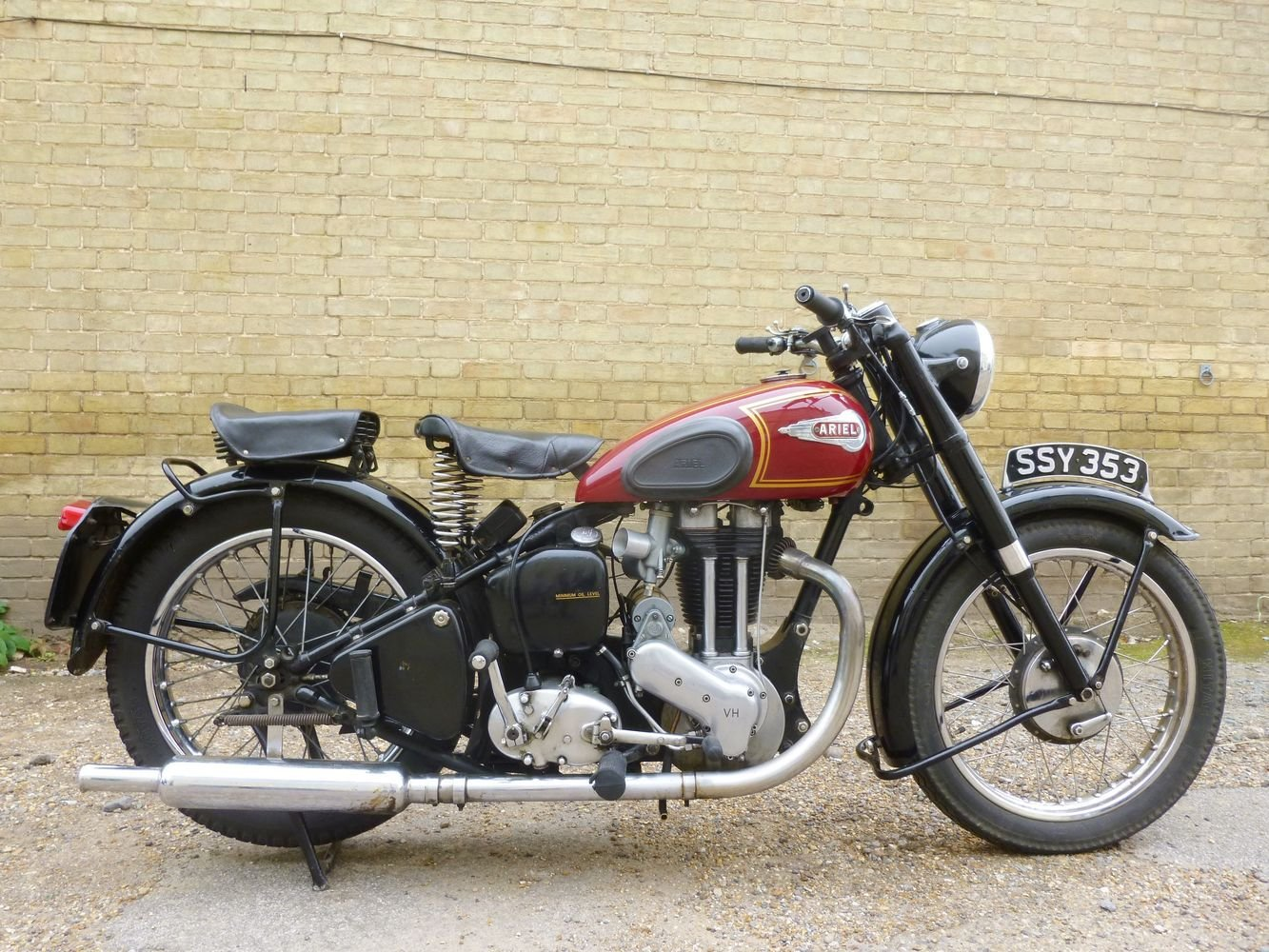 1951 Ariel VH 500cc SOLD (picture 1 of 6)