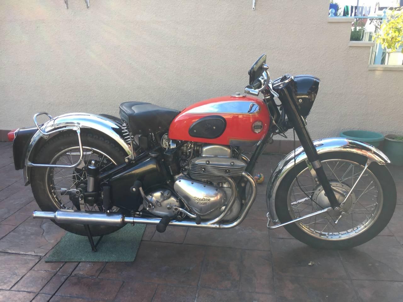 1957 Ariel Square 4 Mk 2  For Sale (picture 1 of 1)