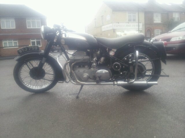Ariel square four 1955 4g mk1  For Sale (picture 3 of 5)
