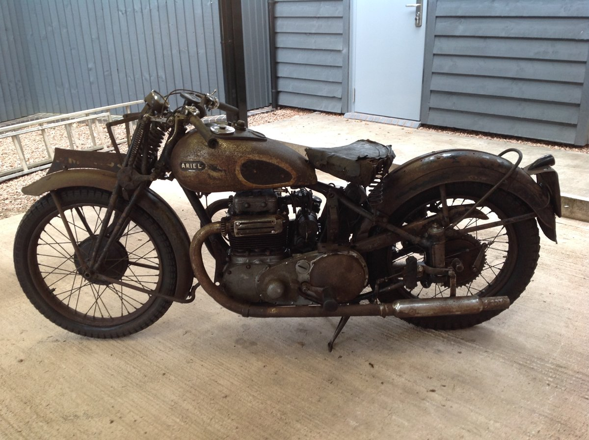 1939 Ariel Square four 600F (OHV) SOLD (picture 1 of 6)