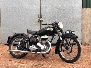 1953 Ariel VB 600cc Plunger