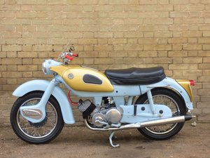 1961 Ariel 'Golden' Arrow Super Sports 250cc SOLD