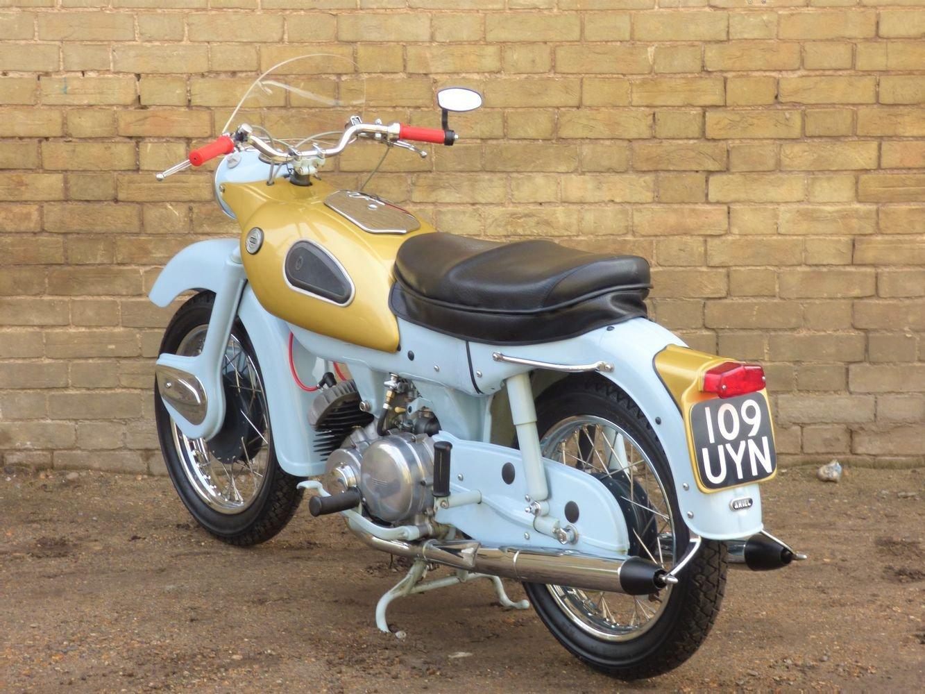 1961 Ariel 'Golden' Arrow Super Sports 250cc SOLD (picture 5 of 6)