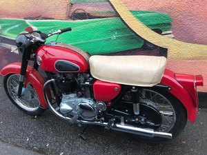 1958  Ariel 650 Red Hunter