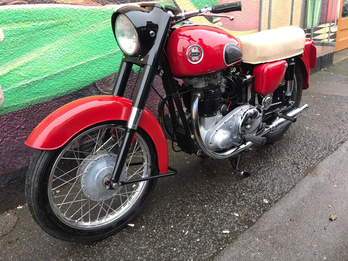 1958 Ariel 650 Red Hunter For Sale (picture 2 of 6)
