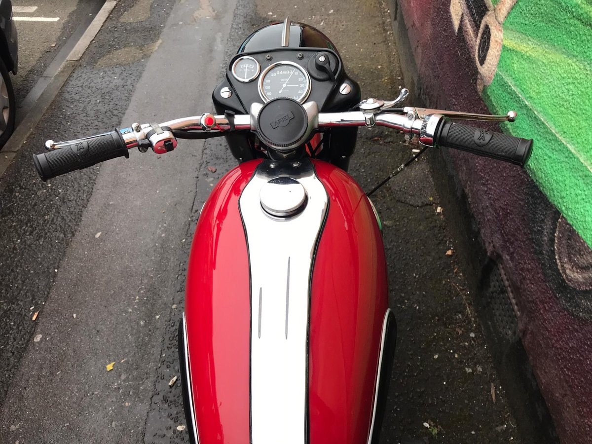1958 Ariel 650 Red Hunter For Sale (picture 6 of 6)