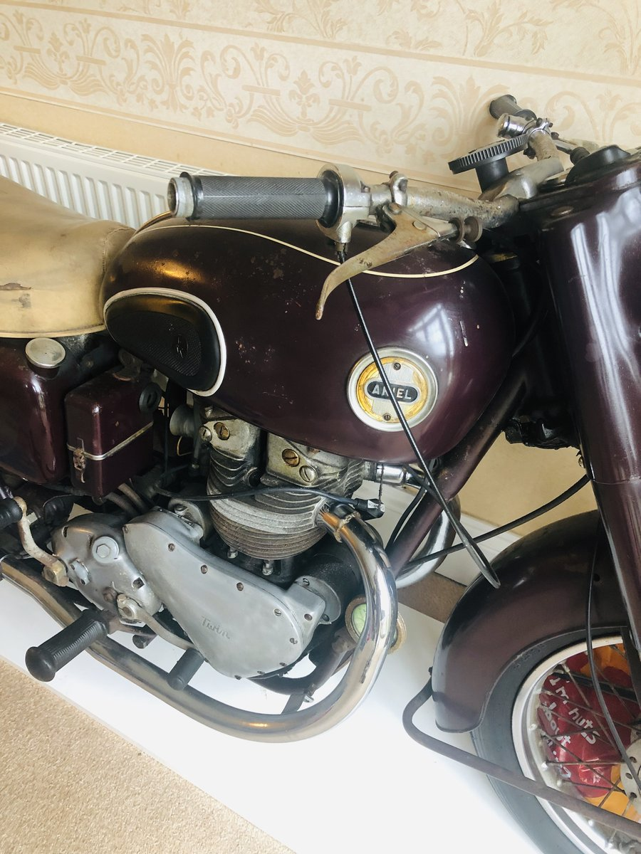 1956 Arial Fieldmaster 500cc. Rare Class For Sale (picture 3 of 6)