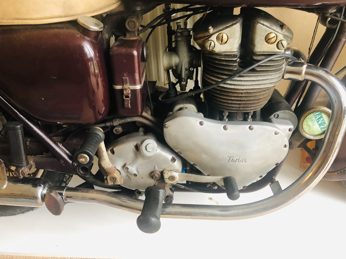 1956 Arial Fieldmaster 500cc. Rare Class For Sale (picture 6 of 6)