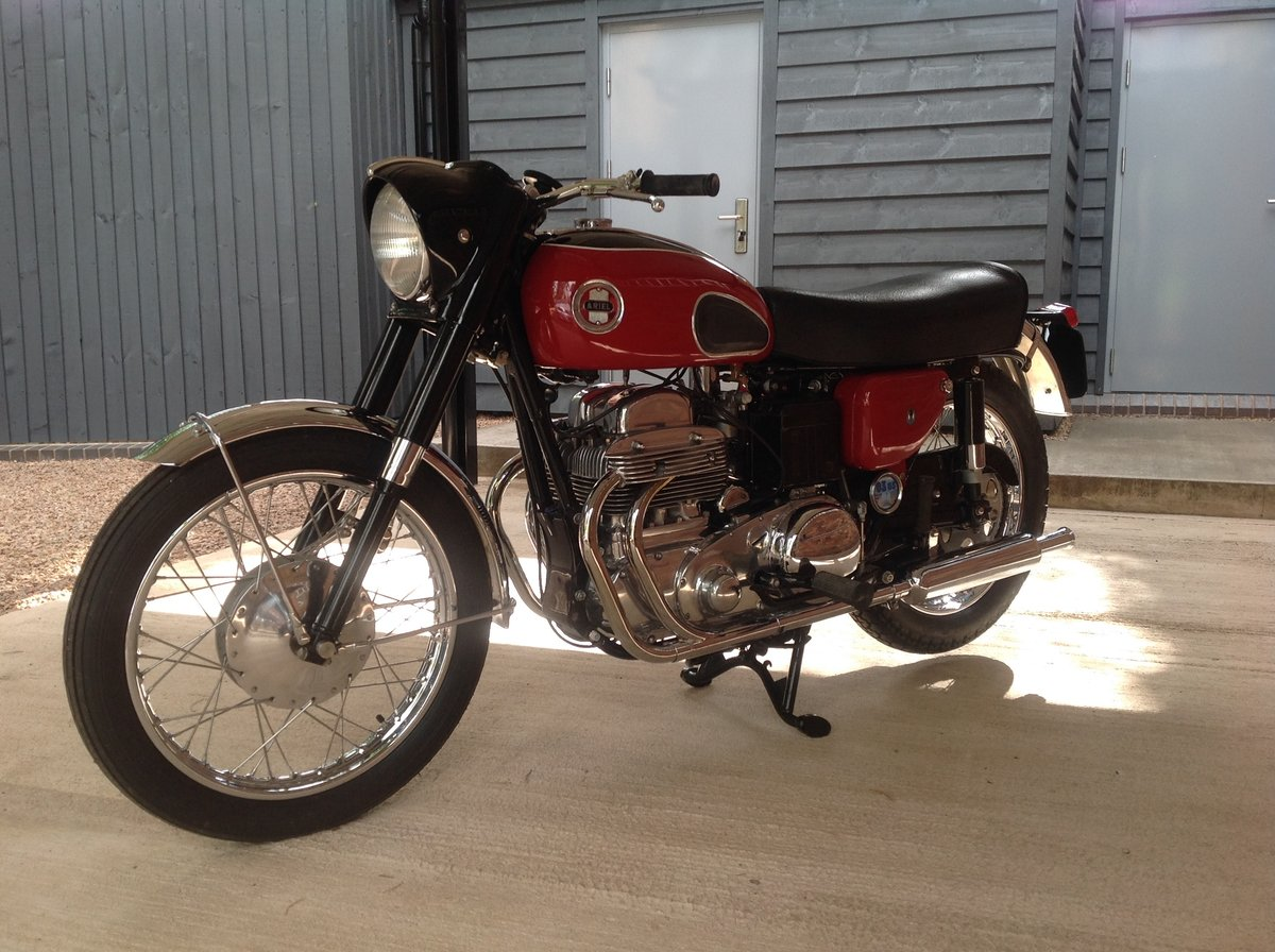 1957 Ariel Square Four MK1V For Sale (picture 3 of 6)