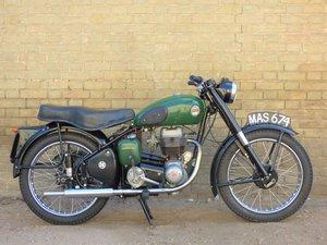 1955 Ariel Colt 200cc