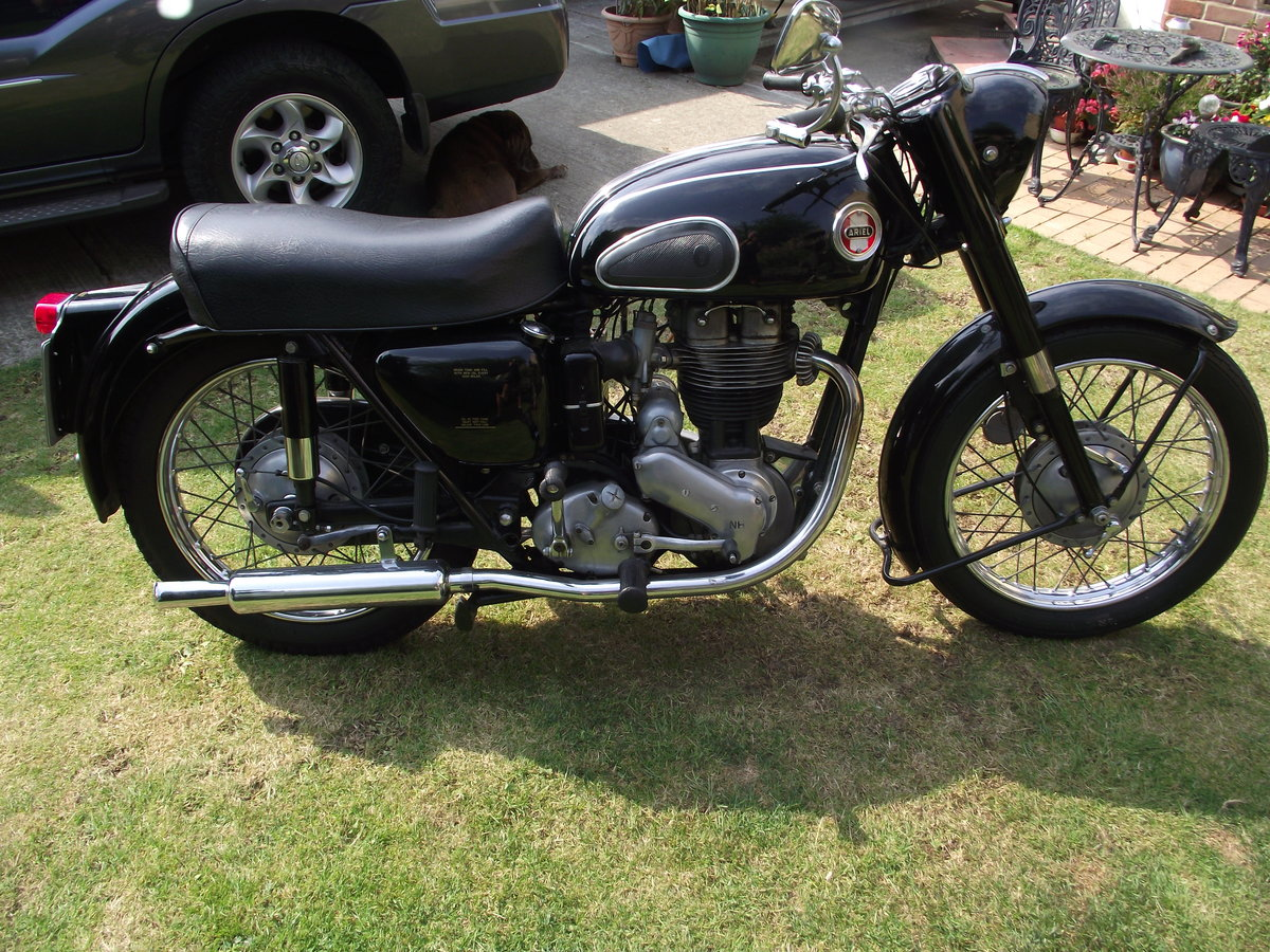 1959 AREIL RED HUNTER 350CC SOLD (picture 2 of 2)