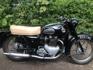 1959 Ariel 650 Huntmaster Sidecar Outfit.