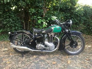 ARIEL VG DE LUXE 1937. 500cc MATCHING NUMBERS. For Sale