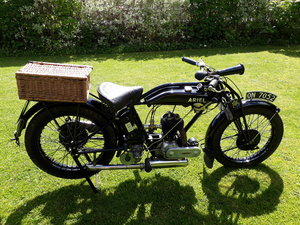 Extremely Rare 1926 Ariel Model A 557cc side valve For Sale