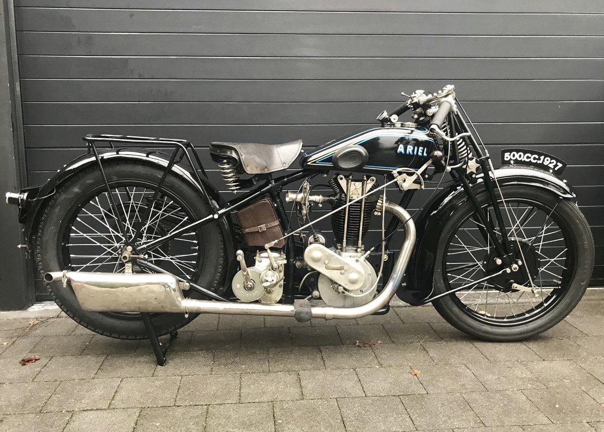 Ariel - D  500cc OHV Sport   1927 For Sale (picture 1 of 6)