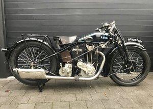 Ariel - D  500cc OHV Sport   1927