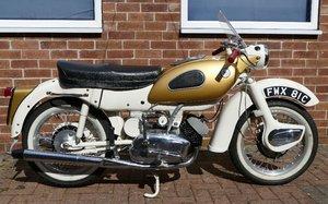 1965 Ariel Arrow Super Sports (Golden Arrow), 247 cc.