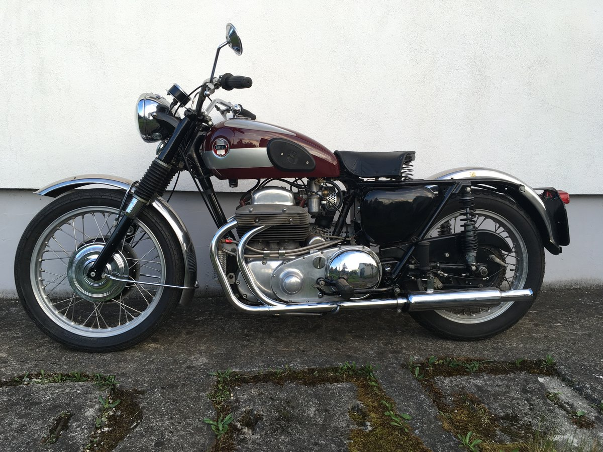 1957 Ariel Square Four MK2 - Swingarm Special For Sale (picture 1 of 6)