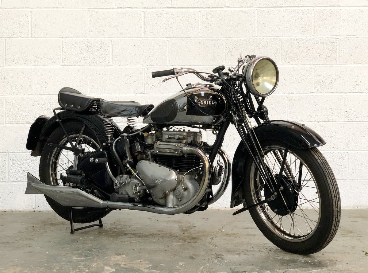 Restored Vintage Ariel Square Four 1939 600cc SOLD (picture 1 of 6)
