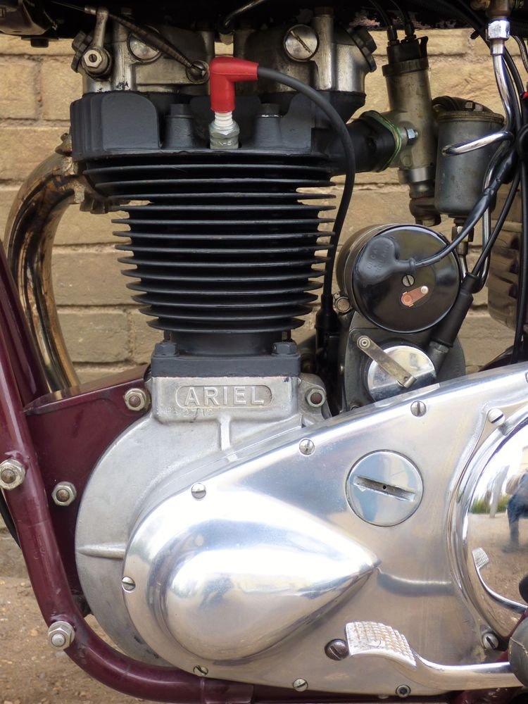 1954 Ariel NH 350cc For Sale (picture 4 of 6)