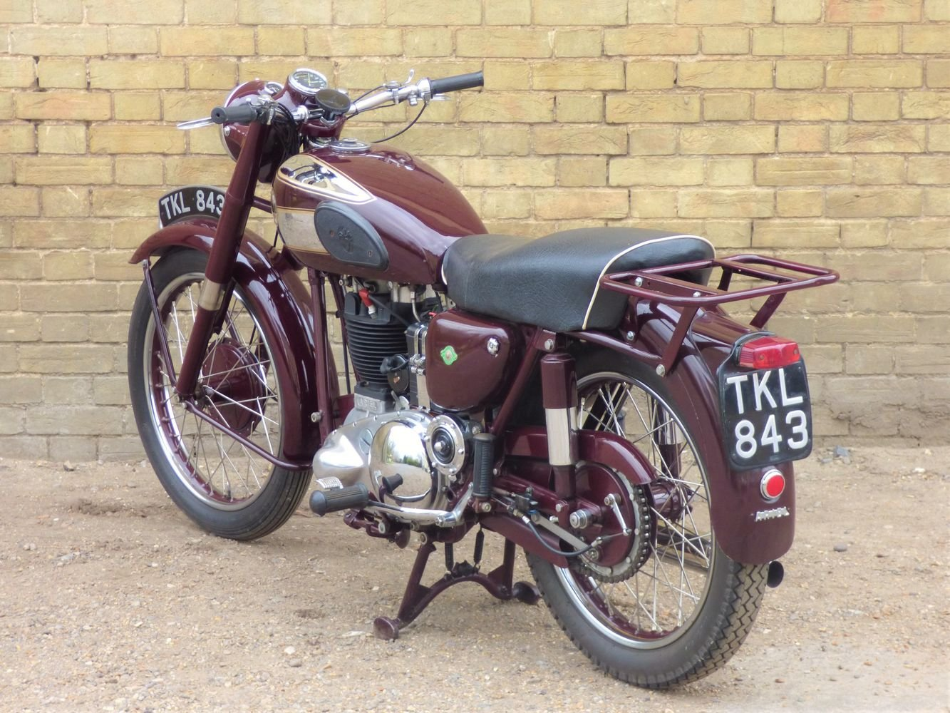 1954 Ariel NH 350cc For Sale (picture 5 of 6)
