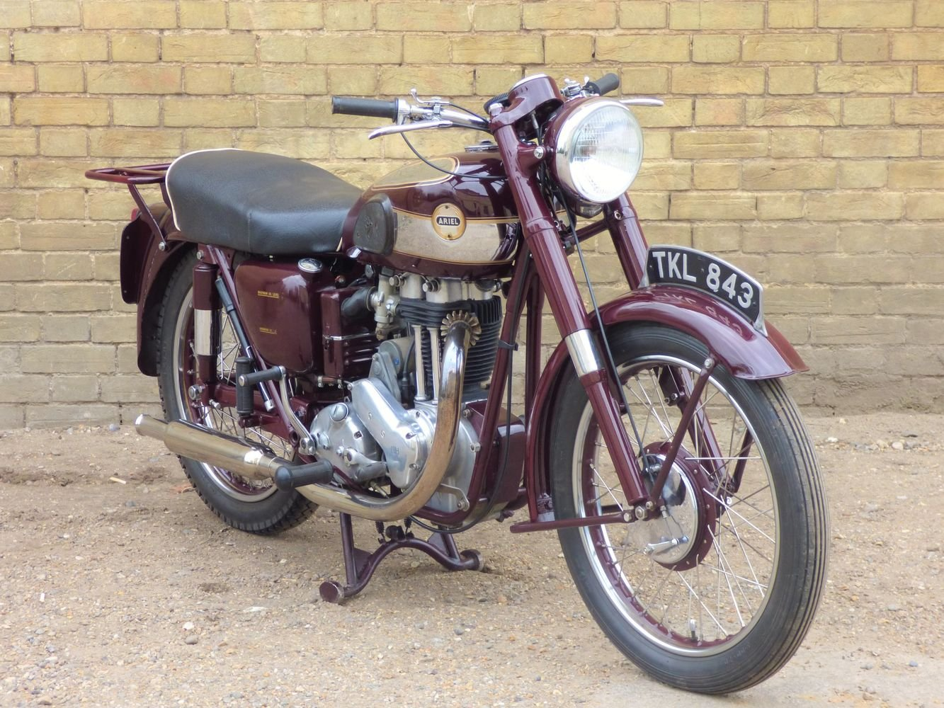 1954 Ariel NH 350cc For Sale (picture 6 of 6)