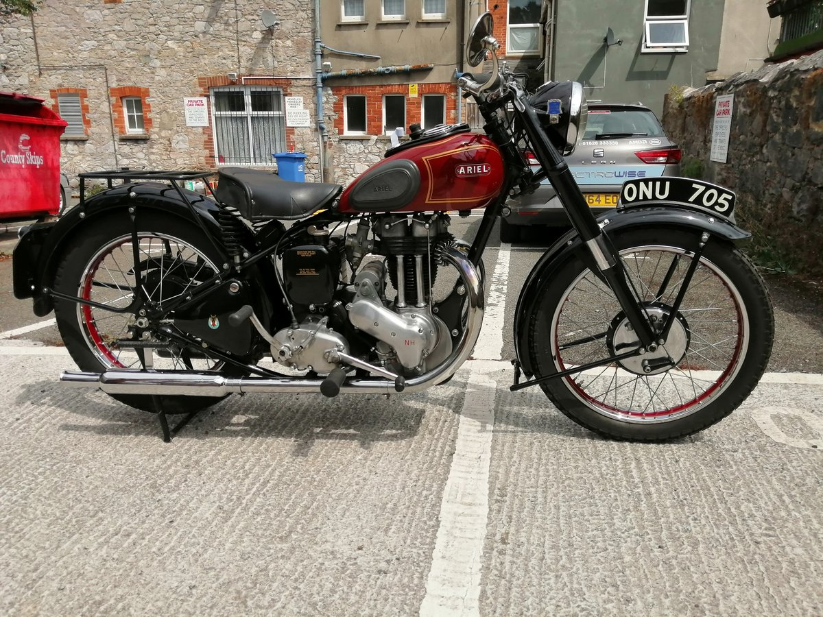 1950 Ariel NH Classic motorcycle For Sale (picture 5 of 6)