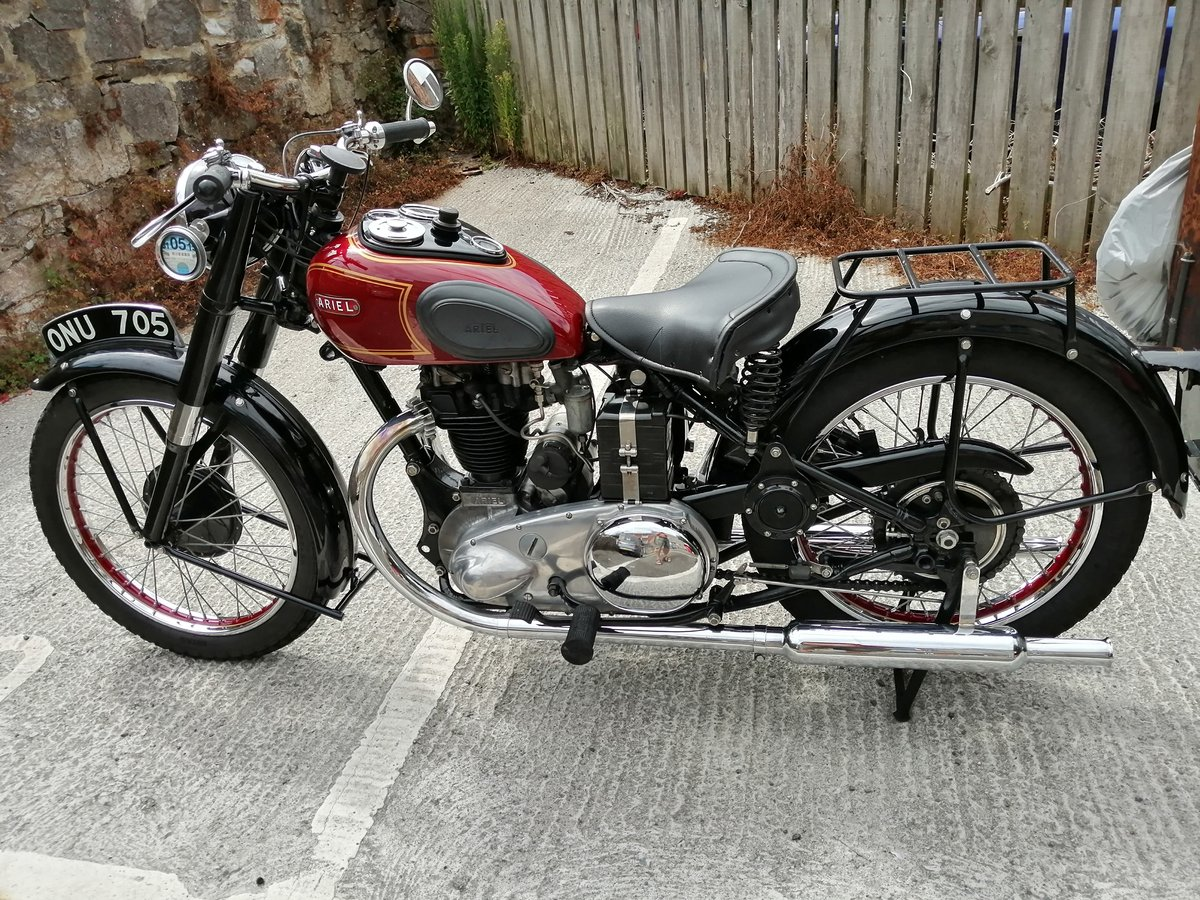 1950 Ariel NH Classic motorcycle For Sale (picture 6 of 6)