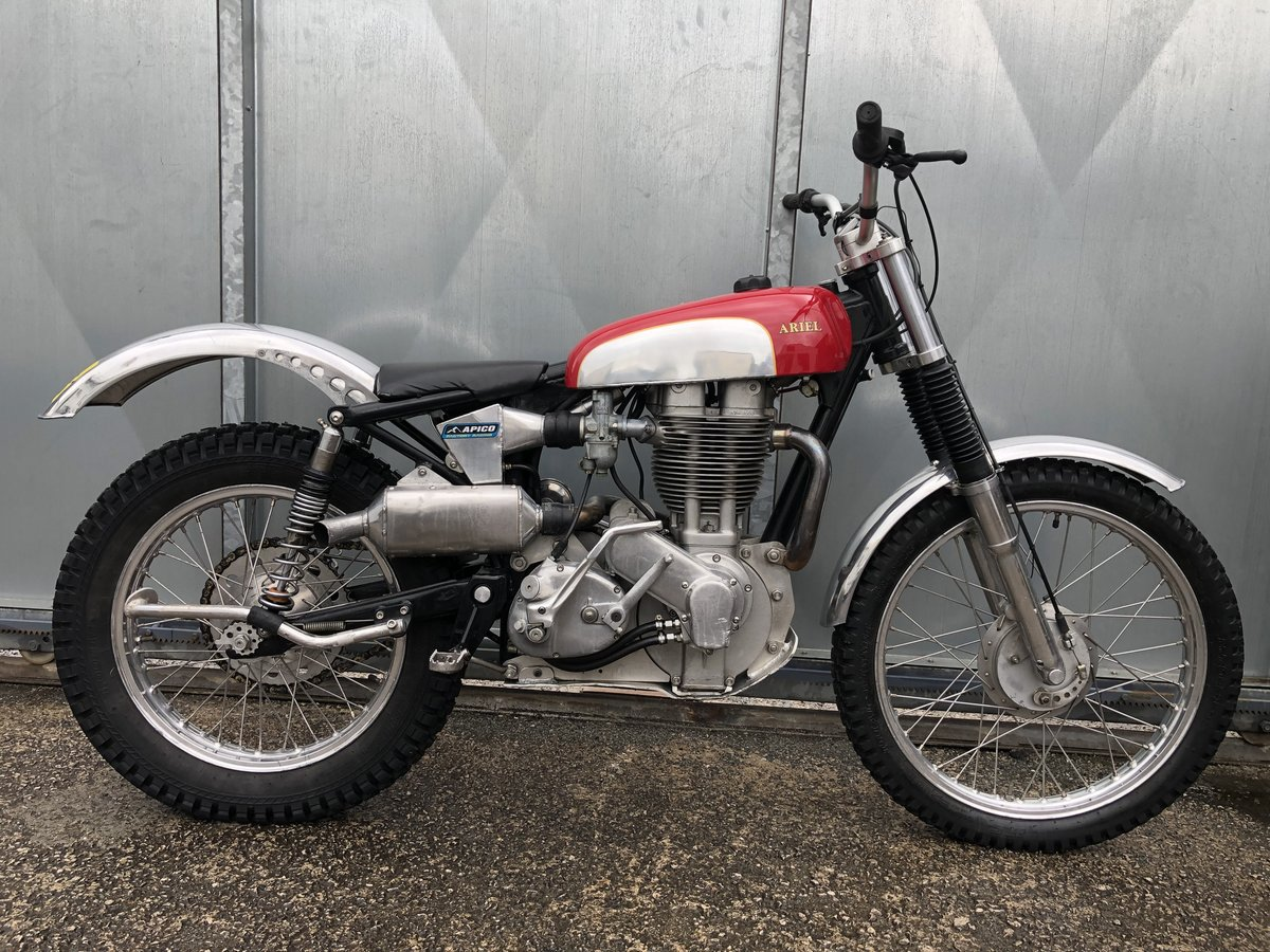 1960 ARIEL HT5 TRIALS VERY TRICK BIKE ROAD REGD £14995 ONO PX For Sale (picture 1 of 6)