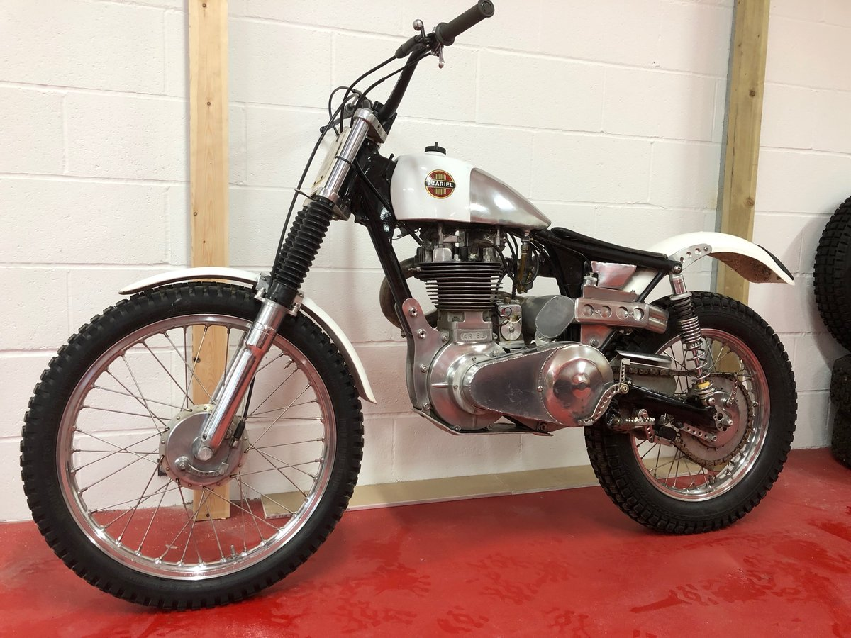 1960 ARIEL HT5 TRIALS CHAMPIONSHIP WINNING! VERY TRICK BIKE  For Sale (picture 1 of 6)