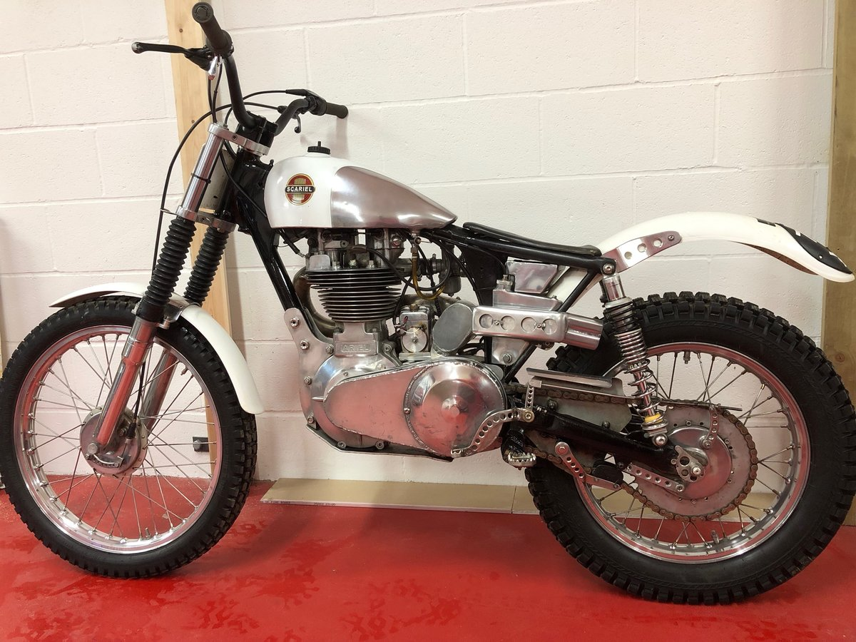 1960 ARIEL HT5 TRIALS CHAMPIONSHIP WINNING! VERY TRICK BIKE  For Sale (picture 2 of 6)