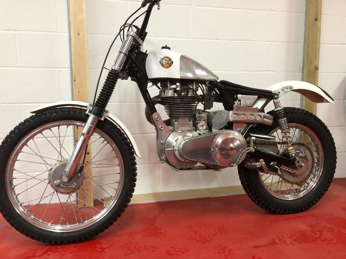 1960 ARIEL HT5 TRIALS CHAMPIONSHIP WINNING! VERY TRICK BIKE  For Sale (picture 3 of 6)