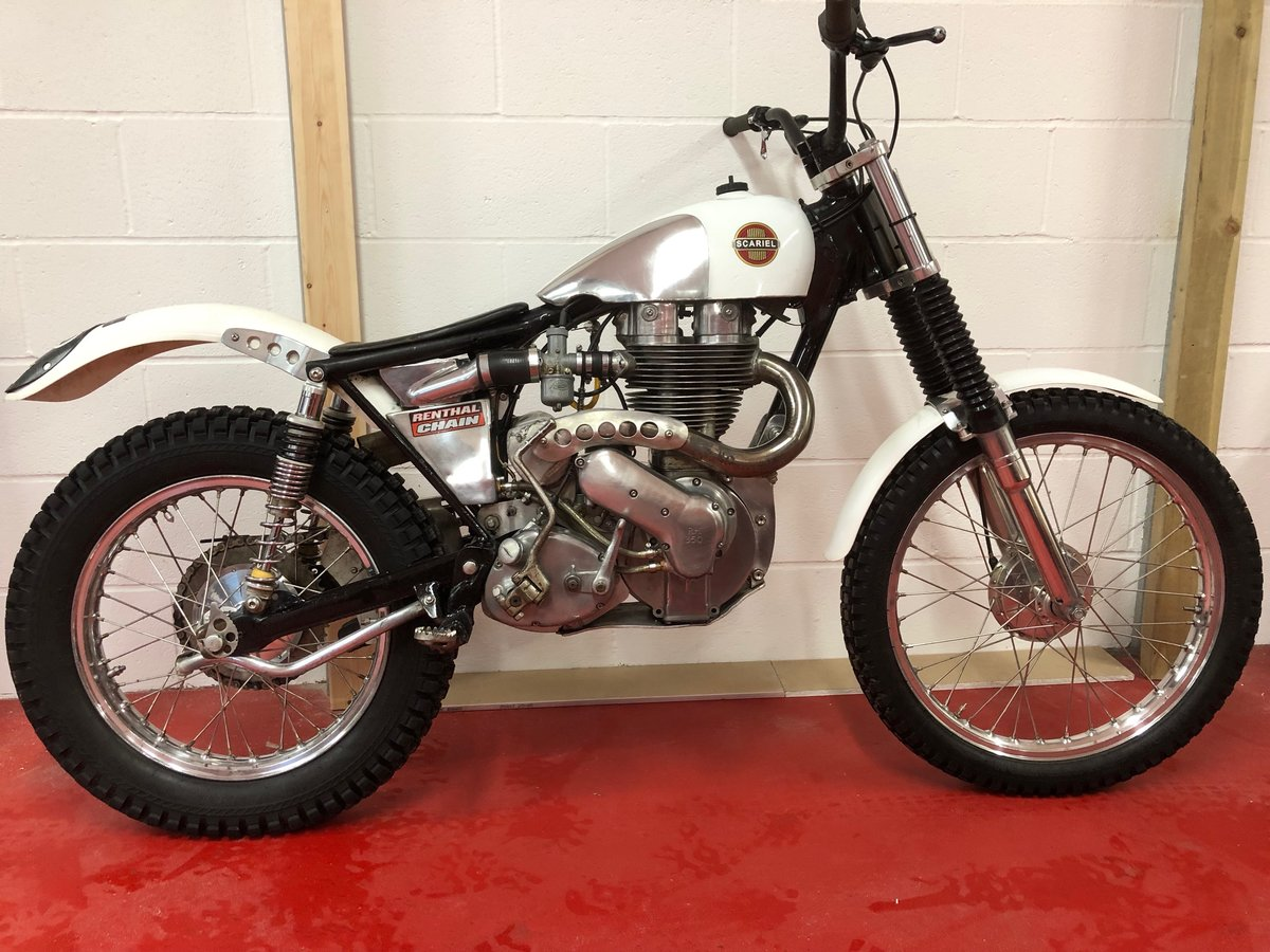 1960 ARIEL HT5 TRIALS CHAMPIONSHIP WINNING! VERY TRICK BIKE  For Sale (picture 5 of 6)