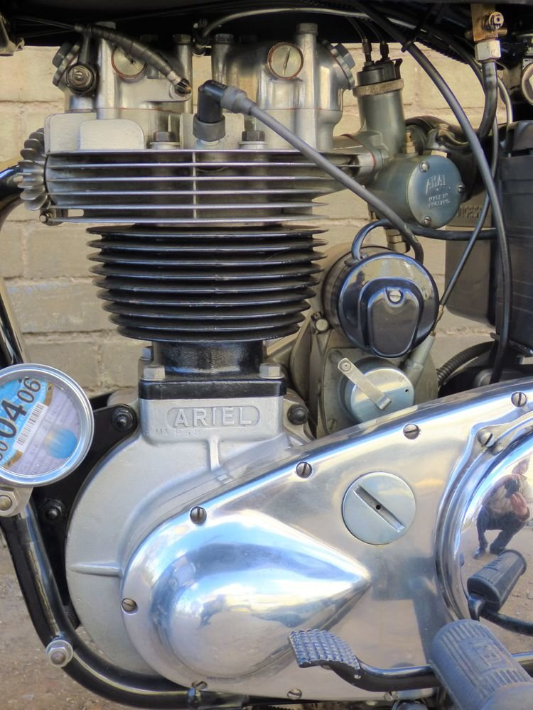 1955 Ariel NH 350cc For Sale (picture 4 of 6)