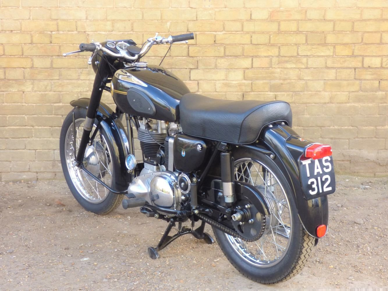 1955 Ariel NH 350cc For Sale (picture 5 of 6)