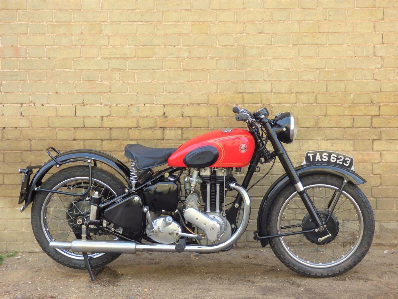 1953 Ariel VH 500cc SOLD (picture 1 of 6)