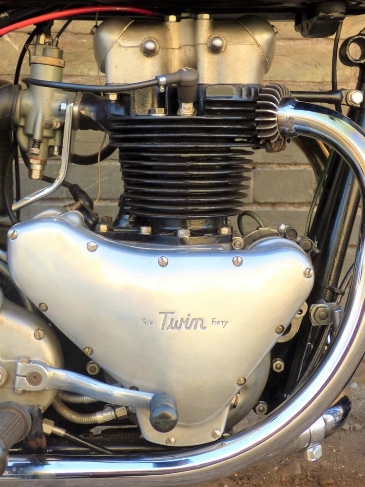 1956 Ariel Huntmaster 650cc SOLD (picture 3 of 6)