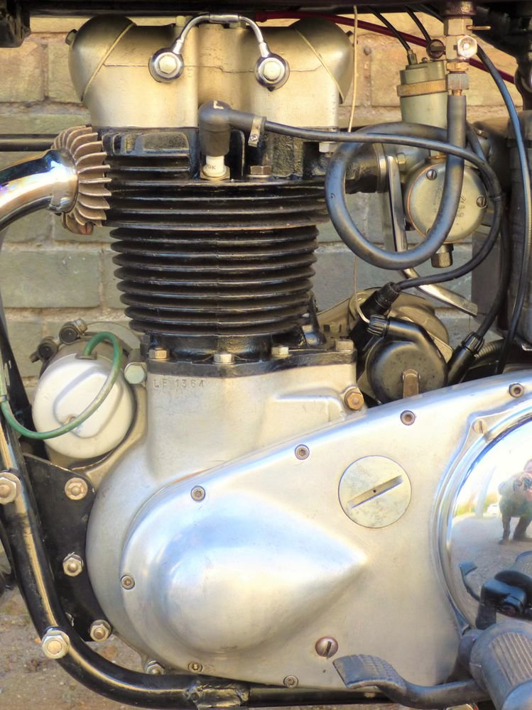 1956 Ariel Huntmaster 650cc SOLD (picture 4 of 6)
