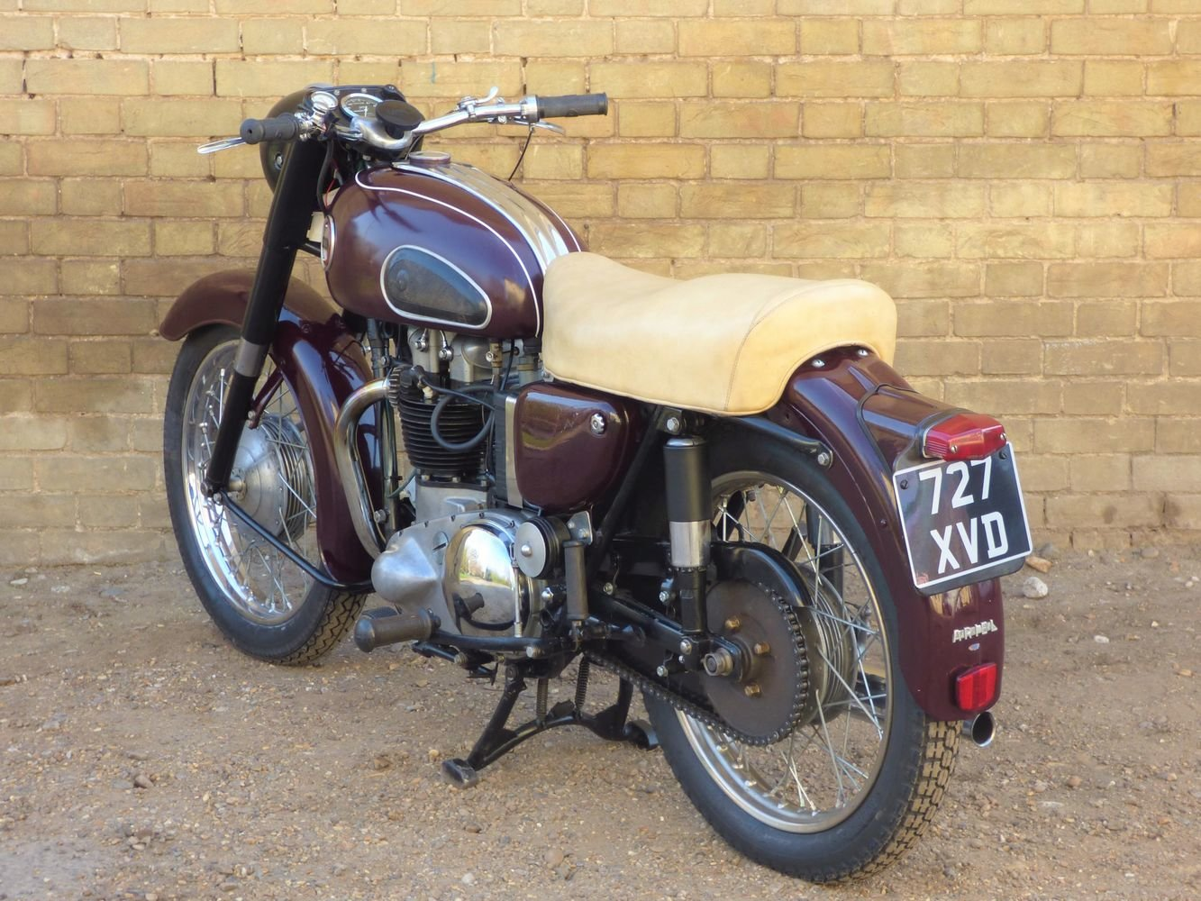 1956 Ariel Huntmaster 650cc SOLD (picture 5 of 6)
