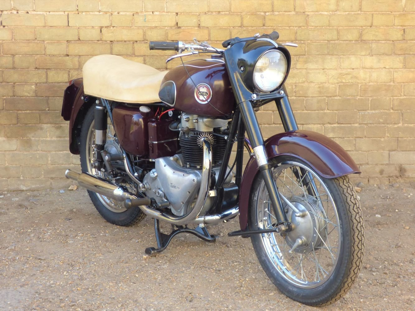 1956 Ariel Huntmaster 650cc SOLD (picture 6 of 6)
