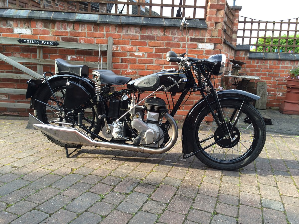 1932 Ariel VB single - Last of the Black Ariels Rare  For Sale (picture 1 of 6)
