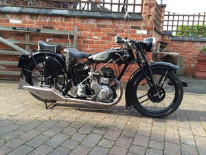 1932 Ariel VB single - Last of the Black Ariels Rare  For Sale