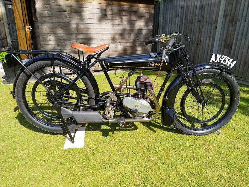 Ariel 2 1/2 HP Lightweight, 1924 For Sale (picture 1 of 5)