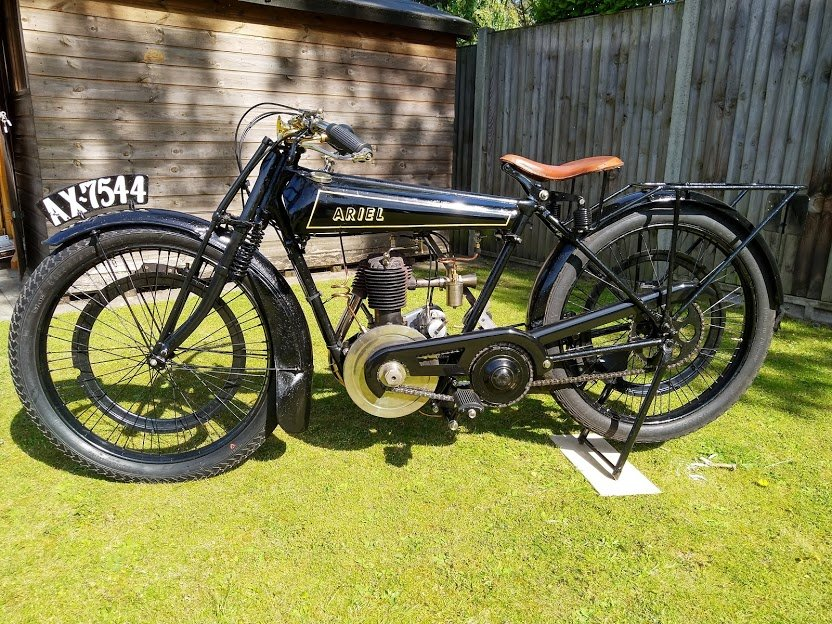 Ariel 2 1/2 HP Lightweight, 1924 For Sale (picture 4 of 5)