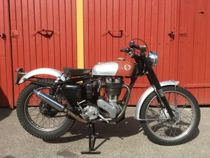 1956 ARIEL HT 500CC, MATCHING NUMBERS, UNRESTORED.