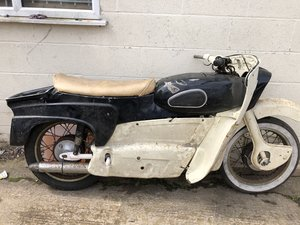 1960 ARIEL LEADER FOR RESTORATION ROAD REGD WITH V5 IDEAL TRIALS