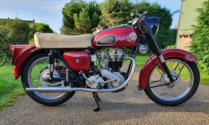 1959  Ariel Red Hunter, 350 cc.