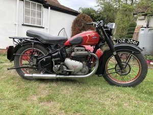 1950 Ariel Square Four 4G Combination For Sale by Auction