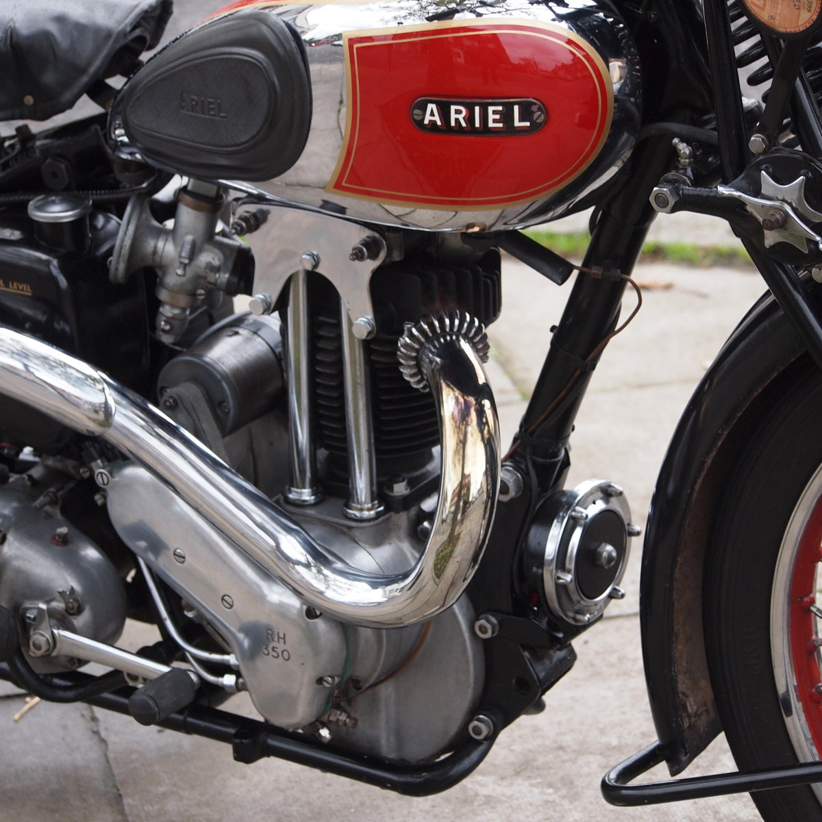 1937 Rare NH 1 350cc Red Hunter, With Girder Forks. SOLD (picture 2 of 6)